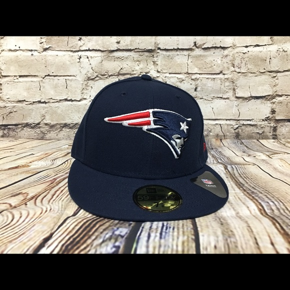 New Era New England Patriots fitted hat size 7 1 8 05df6fde2
